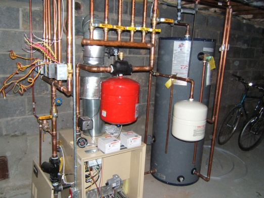 wiring a boiler and zone valves - Plumbing Zone - Professional ...