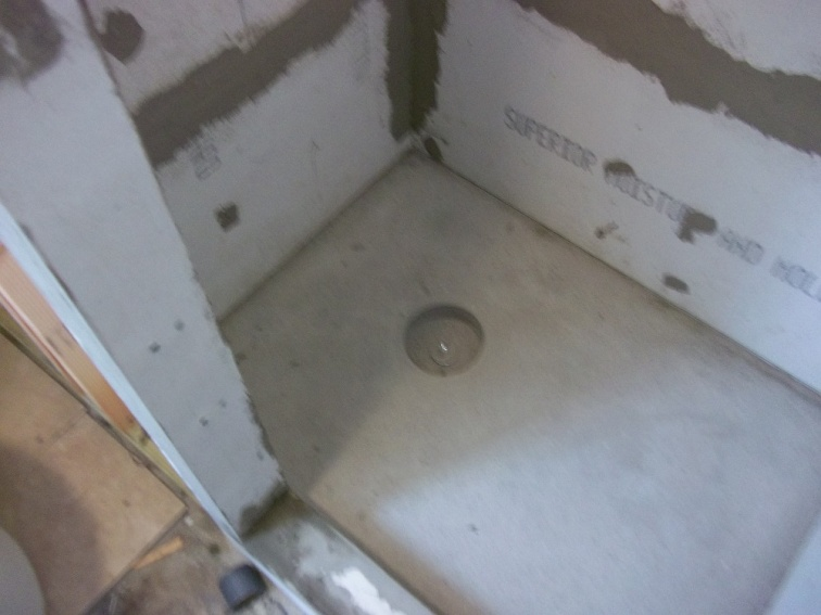 Liquid Membrane Shower Pan 100 0149 Jpg