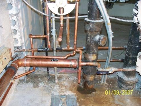 Kohler shower valve rough in... - Plumbing Zone - Professional ...