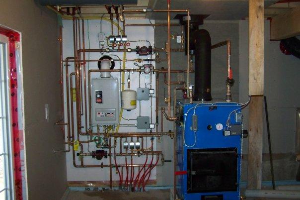 Wood Boiler With Propane Back Up Plumbing Zone