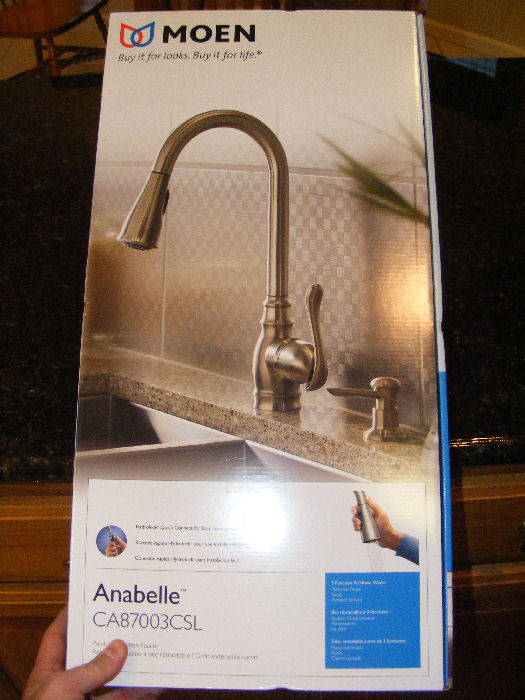 "Moen ""Anabelle"" kitchen faucet review Plumbing Zone"