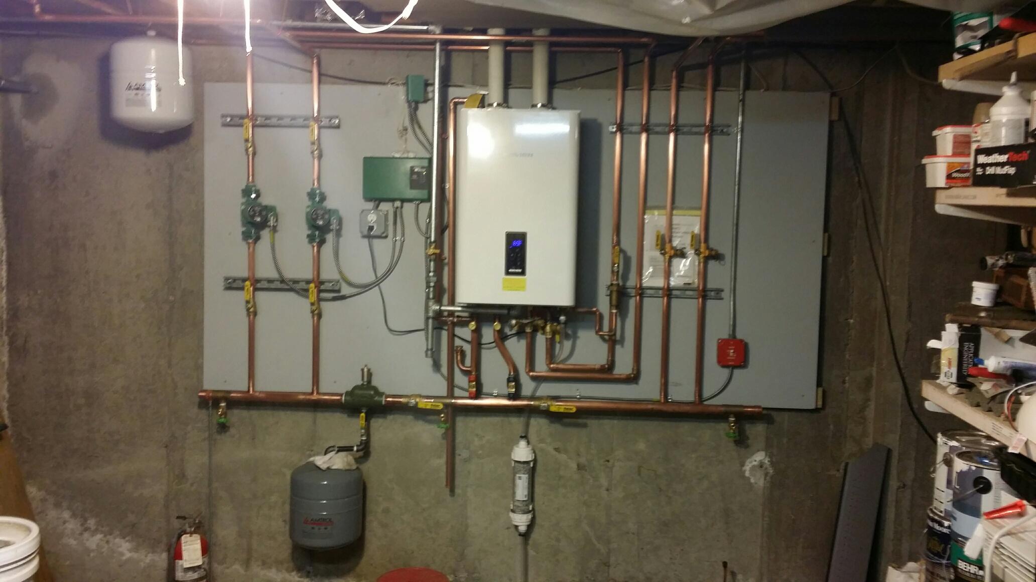 new navien 240 ncb install - plumbing zone
