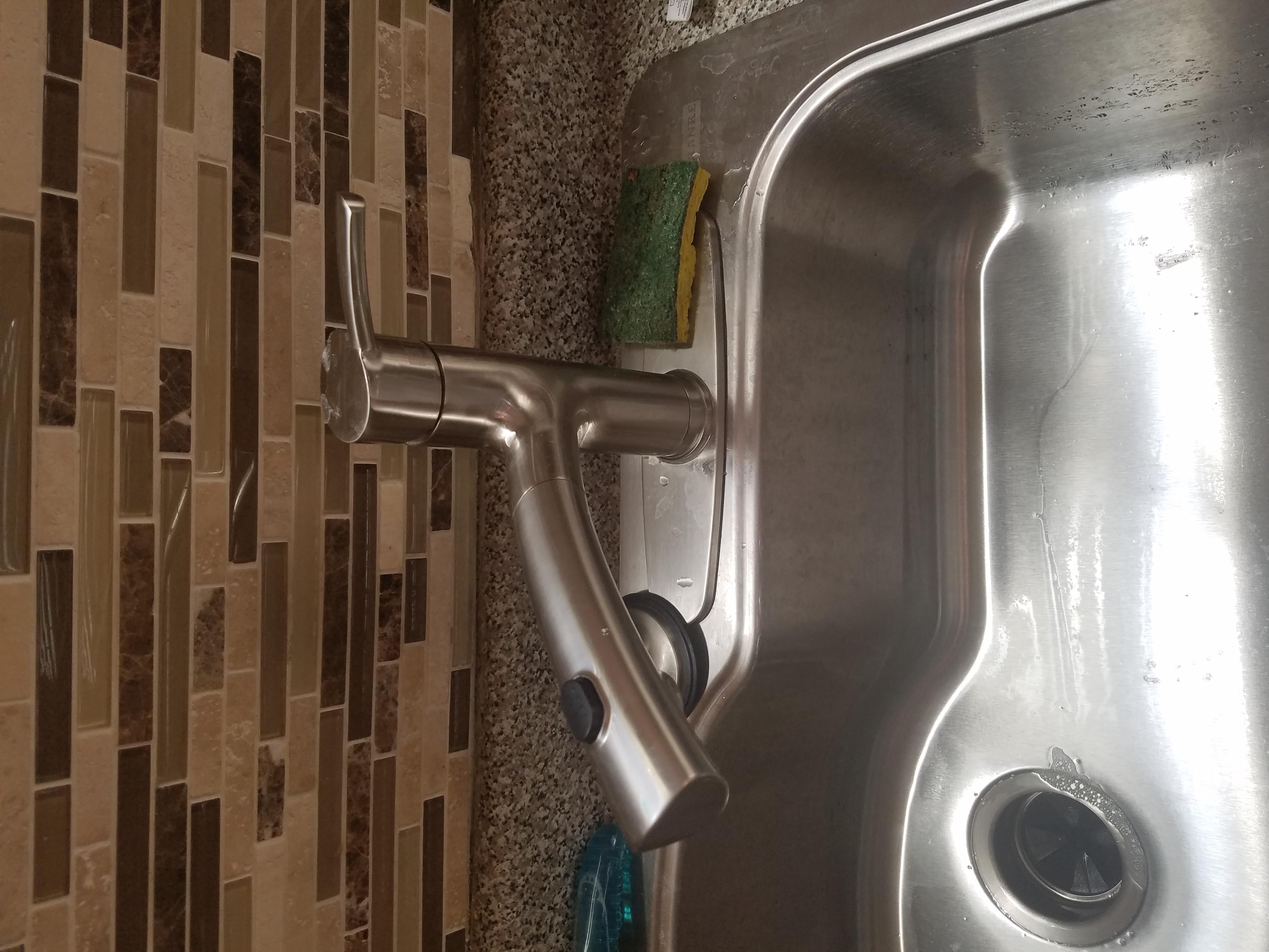 lost pressure in kitchen sink