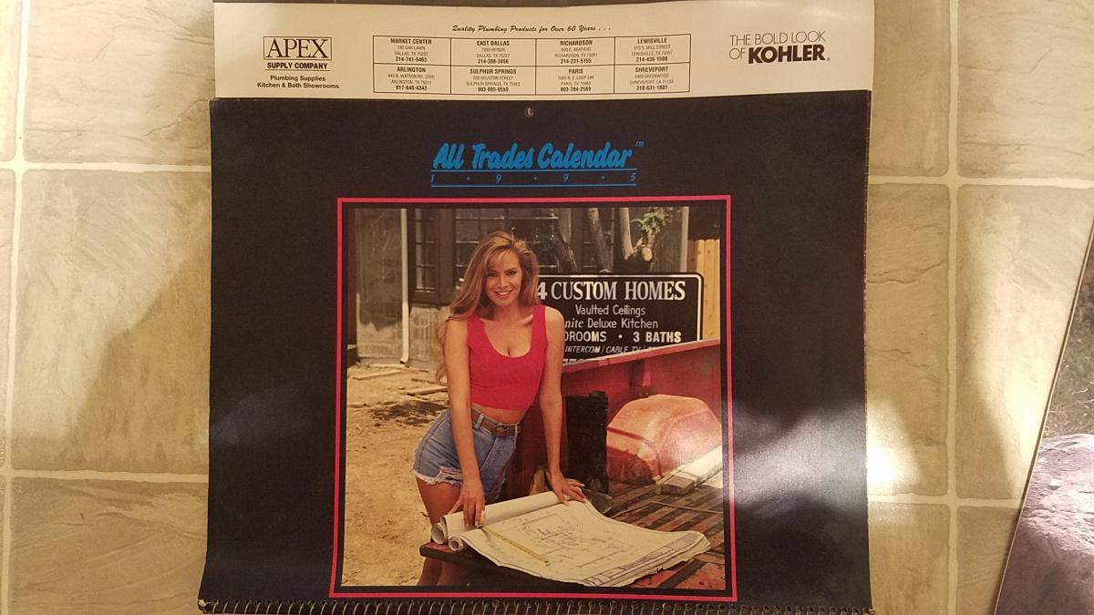 Old calendars ... - Plumbing Zone - Professional Plumbers Forum