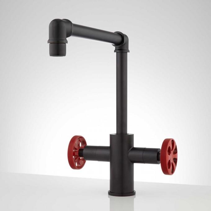 Kitchen Faucet Recomendations-428173-single-hole-kitchen-faucet-black-front.jpg
