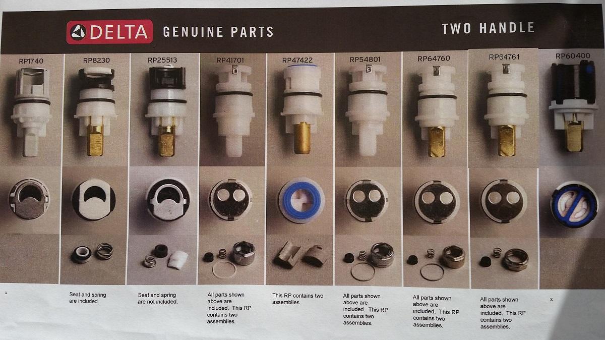 Delta Faucet Parts Conundrum Page 2 Plumbing Zone