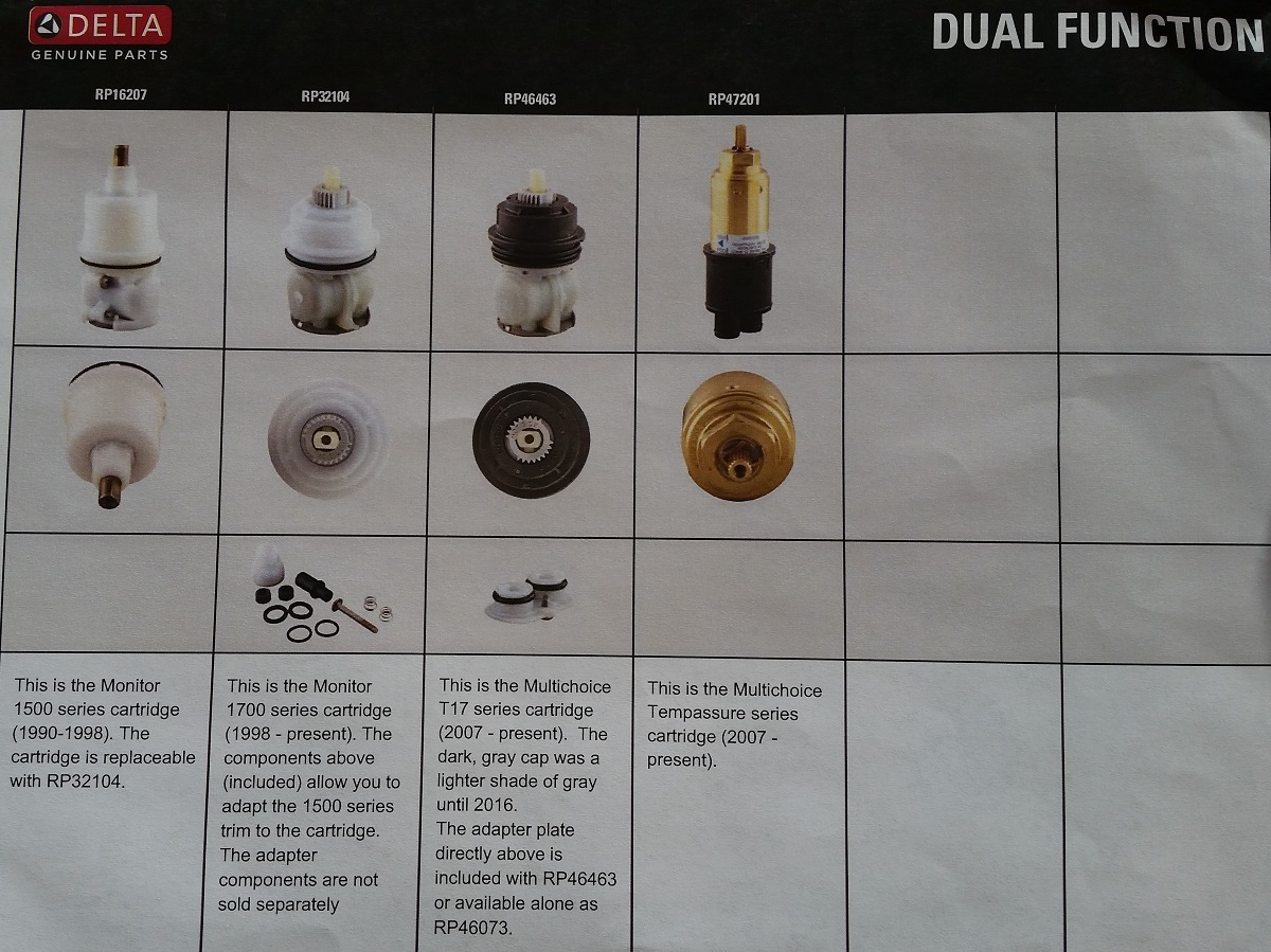 Delta Faucet Parts Conundrum Page 2 Plumbing Zone