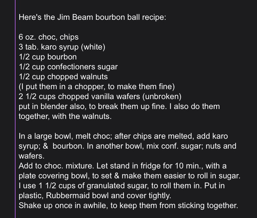 Old family recipe, bourbon or rum balls-fc51e9b9-c0fa-4acf-90c1-f58ab464acac.jpeg