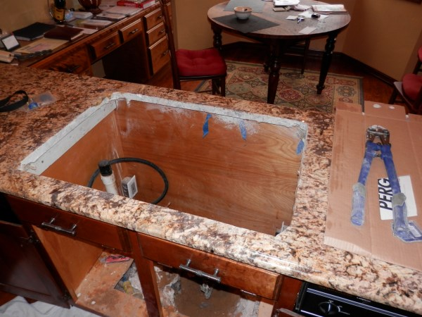 How To Remove Cast Iron Kitchen Sink On Tile French Fern Ii.