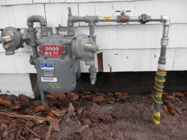 Gas Meter And Regulator Revit