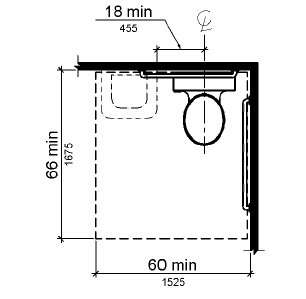 ADA WC Clearance - Plumbing Zone - Professional Plumbers Forum