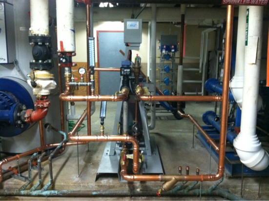 Aerco plate and frame heat exchanger install - Plumbing Zone ...