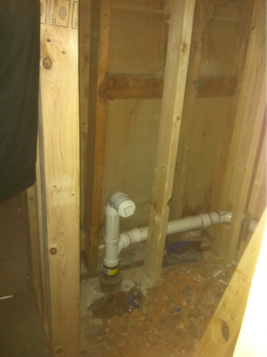 Running A 2 Quot Pipe Through A 2x4 Wall Page 9 Plumbing