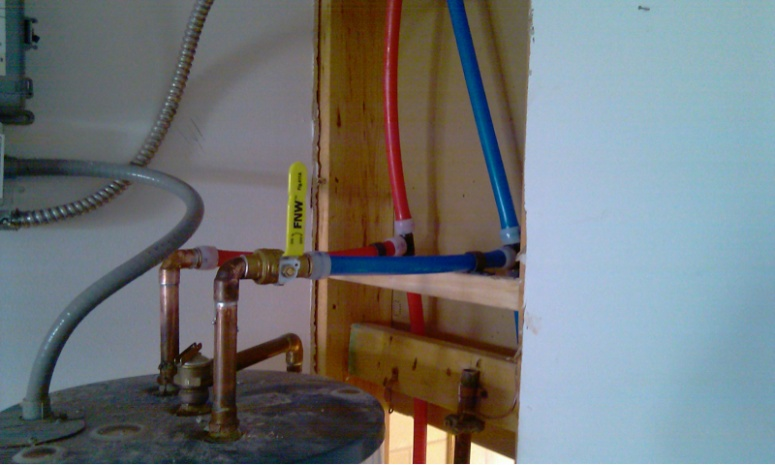 First uponor full repipe. - Plumbing Zone - Professional ... on