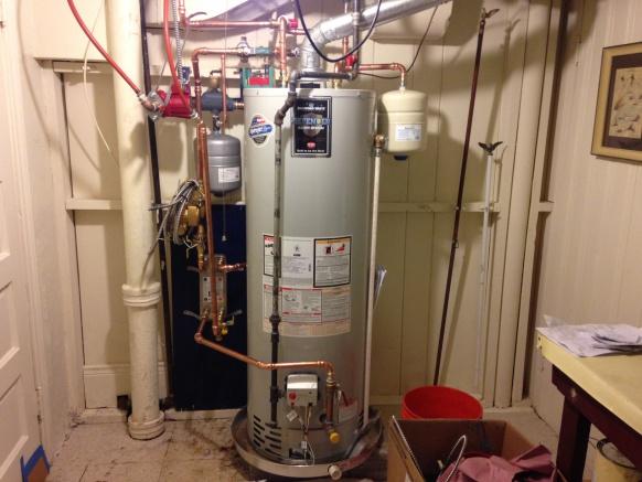 Radiant Heating Using Domestic Water Heater Plumbing