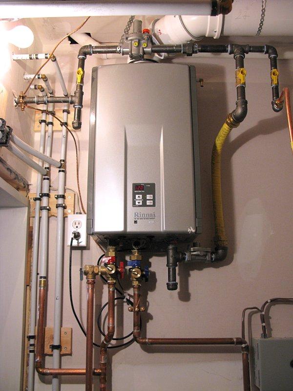 Gas boiler rinnai strangeness page plumbing zone