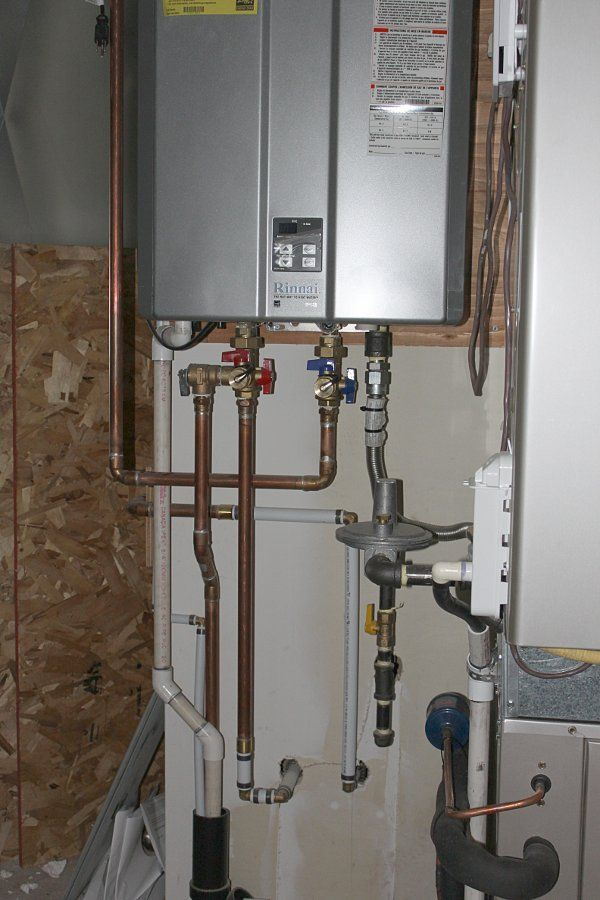 Tankless Water Heater Install - Plumbing Zone