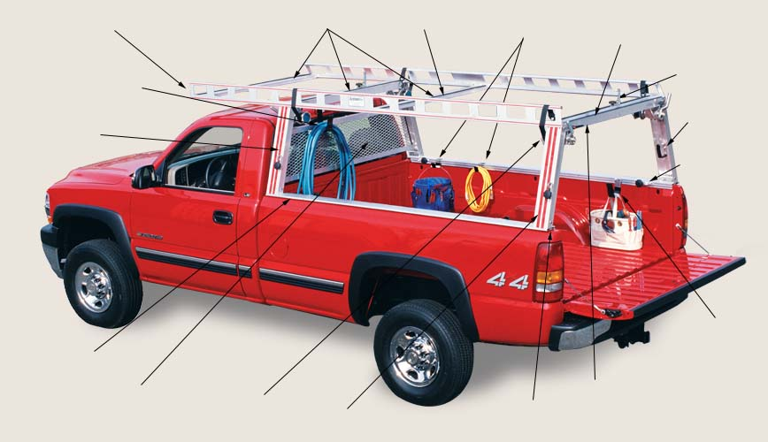 Truck Pipe Rack >> Pipe Rack Attachments Trucks Only Plumbing Zone