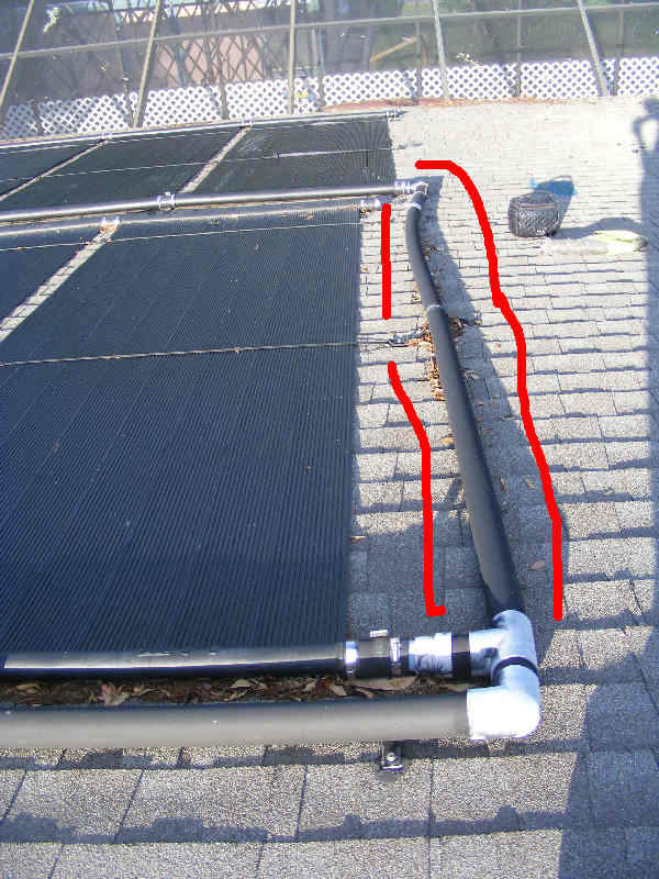 Pvc Pipe On Solar Pool Heaters Plumbing Zone